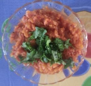 Onion Tomato Gojju
