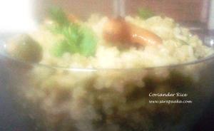 Coriander Rice 1 copy